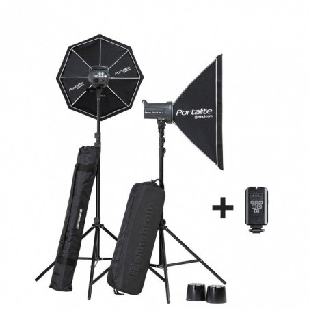 KIT ELINCHROM D-LITE RX 4/4 Softbox To Go