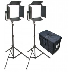 KIT 2 PANEL LED CN-1200SA LUZ DIA CON ALETAS