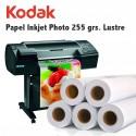 Papel Inkjet Photo 255 grs. Photo Paper Lustre 40,6 cm. x 30,5 m.