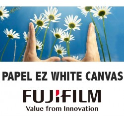 EZ WHITE CANVAS 340gr. 111,8x15