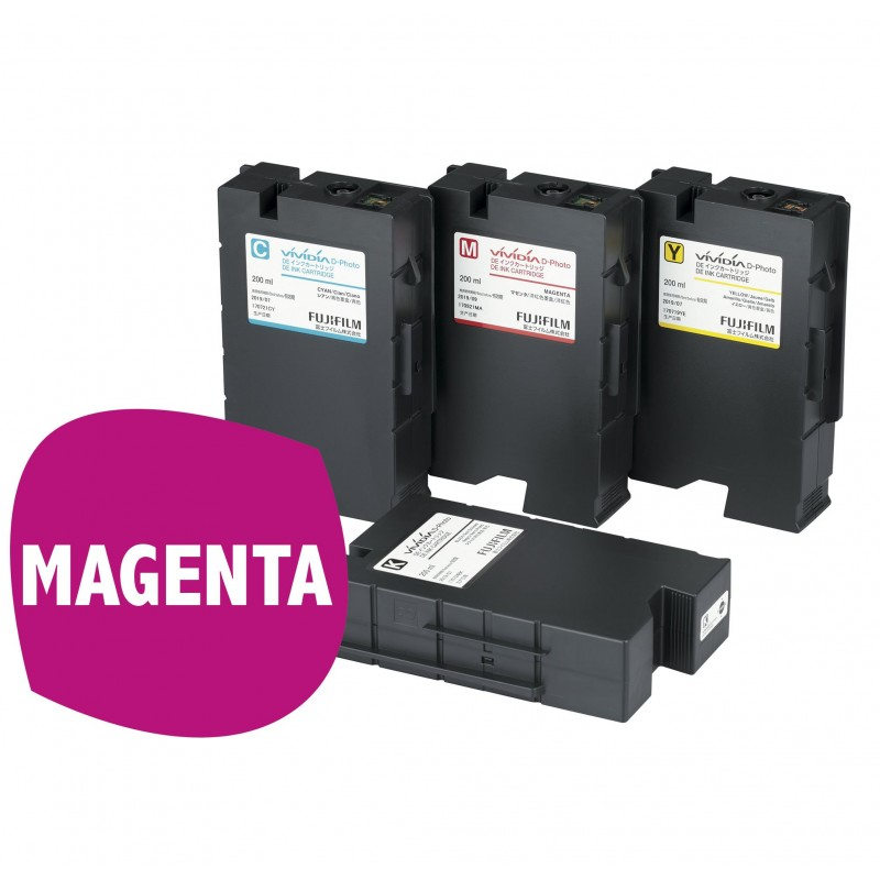DE100 Cartucho de tinta MAGENTA