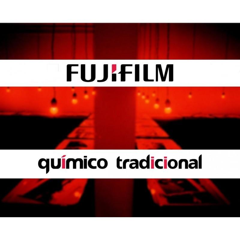Químico Tradicional Fujifilm Blanqueador Fijador y Reforzador. 70 AC 50L B